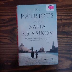 The Patriots Hardcover Book by Sana Krasikov